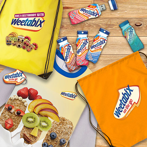weetabix branded products