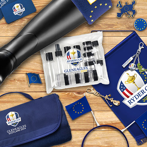 Ryder cup branded products