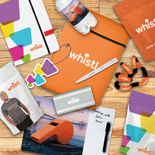 Whistl branded sweets